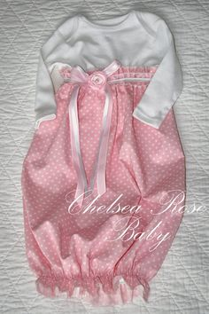 Baby Girl Onesie Dress, Baby Girl Dress, Sleep Gown, Layette, Beautiful Baby Nightgown, Newborn Sleep Sack, Baby Girl Onesie. $28.00, via #fashion shoes #girl fashion shoes| http://girlshoescollectionstaurean.lemoncoin.org