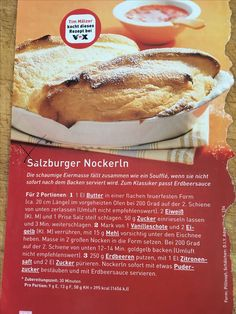Salzburger Nockerln Hot Dog Buns, Hot Dogs, Camembert Cheese, Bread, Food, Strawberries, Food Portions, Cooking, Recipies