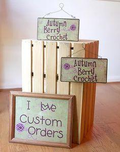 Craft Show sign ideas