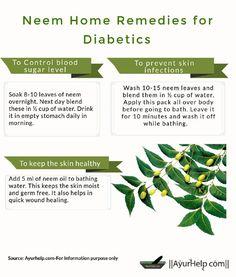 Benefits of neem in diabetes