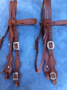 Buckaroo Leather - Pro Harness Old Visalia Style Headstall