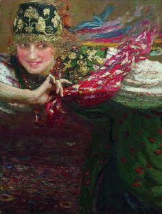 Ilya Repin, Dancing Woman.