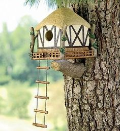 Tree House Birdhouse | Shop home| Kaboodle