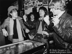 David Johansen, Jon Tiven, Dee Dee Ramone & Andy Paley (CBCG, NYC, 1977)