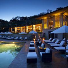 Costa Rica #luxury vacation at the Andaz Papagayo #poolside @andazpapagayo