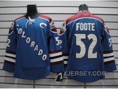 http://www.xjersey.com/discount-nhl-colorado-avalanche-52-foote-blue.html DISCOUNT NHL COLORADO AVALANCHE #52 FOOTE BLUE Only $50.00 , Free Shipping!