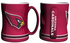 Arizona Cardinals 14oz Sculpted Relief Coffee Mug