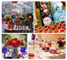 Decoración de bodas al estilo mexicano