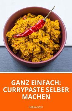 Ganz einfach: Currypaste selber mache