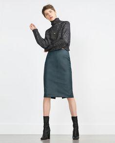 Image 1 of TUBE SKIRT from Zara