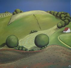Grant Wood's Farm