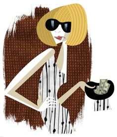 Anna Wintour for The New Republic by David Cowles