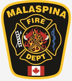 Malaspina Volunteer Fire Department Patch     http://setcomcorp.com/1600intercom.html