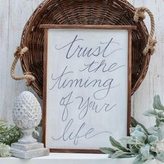 Learn how to create an inspirational piece of art for your walls by handwriting a favorite quote.