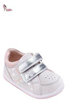 7b962eb488d0 next Fille Baskets Premiers Pas (Maternelle Fille) Standard Gris 5F 21.5 -  Chaussures next