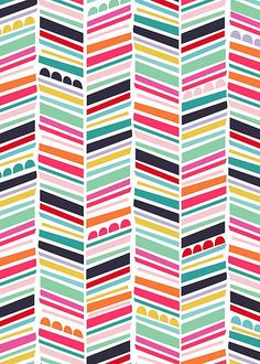chevron, this would be fun to do with multiple patterned papers as an accent