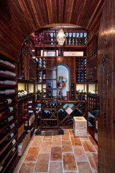 Wine Library Front View....collins dream room