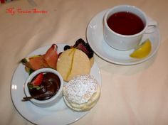Carnival Cruse's Afternoon Tea!