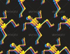 Seamless  #GraphicRiver         Dancing skeletons seamless pattern. Halloween background     Created: 20February13 GraphicsFilesIncluded: JPGImage #VectorEPS Layered: No MinimumAdobeCSVersion: CS Tags: autumn #background #black #blue #cmyk #dance #dancing #element #funny #halloween #hand #happy #illustration #isolated #leg #magenta #october #pink #scary #seamless #skeleton #smile #smiling #trick #vector #walk #walking #white #yellow #zombie