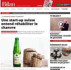 Hempfy business story was covered in popular local newspapers like Bilan, and Tribune de Geneve. Cannabis, Finance, Business Stories, Adventure Photos, Business Journal, French Language, Tv, Photo Galleries, Wellness