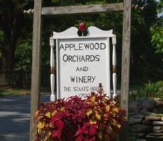 Applewood Orchards and Winery in Warwick, NY- best place to go apple picking, pumpkin picking, and try some delicious wine!