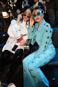 Noah and Miley Cyrus Miley Cyrus, Adventures In Babysitting 2016, Dove Cameron Descendants, Hannah Miley, Beatiful People, Noah Cyrus, Hannah Montana, Famous Girls, Iconic Women