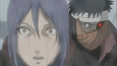 Konan vs Obito - Naruto