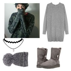 """❤Date W/Bryan Moque❤."" by marifer-oso on Polyvore featuring UGG and Wood Wood"