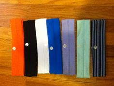 must have lululemon headbands all except the orange. Online or in store