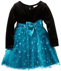 Youngland Girls 2-6X Long Sleeve Glitter Skirt Dress  Be the first to review this item  Price: 	$24.00 - $26.00 -- http://www.amazon.com/Youngland-Girls-Sleeve-Glitter-Skirt/dp/B0085JCVDC/?tag=weilos078-20