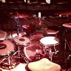 Jeff Friedl's Puscifer drum kit www.jefffriedl.com