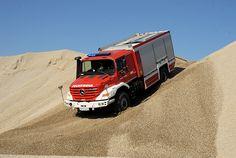 Rüstwagen der Freiwilligen #Feuerwehr Hinterbühl (Österreich) auf #Mercedes #Zetros 1833 4×4.