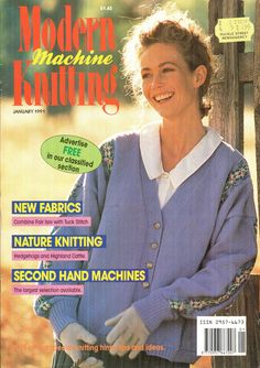 Modern Machine Knitting Magazine 1991.01 Free PDF Download 300dpi ClearScan OCR