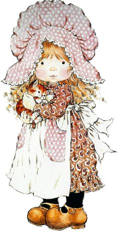 gifs et tubes sarah kay - Page 8 Sarah Key, Holly Hobbie, Mary May, Decoupage, Image Digital, Australian Artists, Illustrations, Cute Illustration, Vintage Pictures