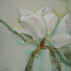 Lynn Johnson, 'First in Line', 40x40 - Anne Irwin Fine Art