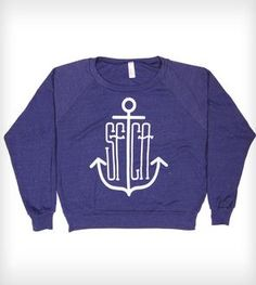 Anchor Pullover Shirt - Indigo