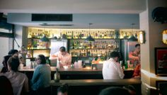 Satan's Whiskers. A chilled East End hang for relaxed cocktails and delicious fresh food, all that to the beats of old-school hip hop. More on http://bestbars.com/2014/05/19/satans-whiskers/