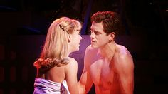 the perfection that is aaron tveit <3 (gif) I watched this way too many times..