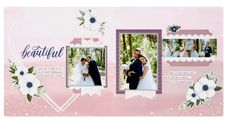 June 2019 Heart Crafts, Wedding Scrapbook, Free Prints, Layout Inspiration, Close To My Heart, Scrapbooking Layouts, Savannah Chat, Gallery Wall, Frame
