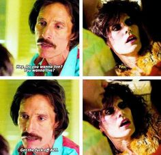 A deleted scene from Dallas Buyers Club. Dallas Buyers Club, Dares, Live For Yourself, Good Movies, Cinema, Scene, Jared Leto, Movie Posters, Beautiful