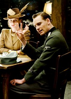 Inglourious Basterds - love it so! Definitely one of my top ten fave movies of all time.