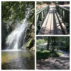 A 50 foot waterfall, cascades, lush wilderness, this hike has it all! This is also called Sturtevant Falls. Sierra Madre, CA Sturtevant Falls, Go Outside, Wilderness, Places Ive Been, Trail, The Neighbourhood, Beautiful Places, Waterfall, Hiking