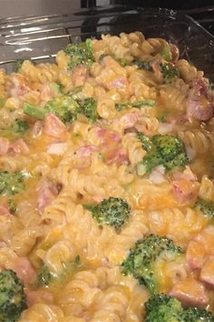 """Ham and Broccoli Bake 