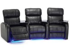 Bullet 41946 - A premium space saving model that offers incredible comfort and a host of exciting home theater options.  #Palliser #HomeTheater #SeatingPlans #ManCave #HomeDecor