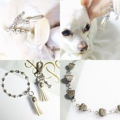 Tassel Love for dog & owner Dog Necklace, Animal Jewelry, Dog Owners, Tassel, Collars, Bling, Pets, Bracelets, Products