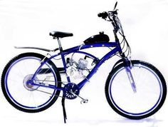 kit motor bicicleta motorizada 80cc 2t e-motorbike p/ bike