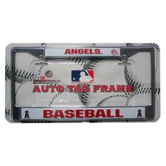 License Plate Chrome Frame - Los Angeles Angels of Anaheim