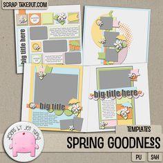 Spring Goodness {Templates}