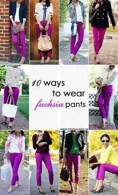 Dying for a pair of fuschia pants