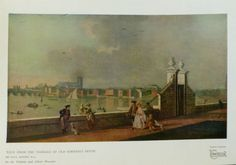 View from the Terrace of Old Somerset House by Paul Sandby